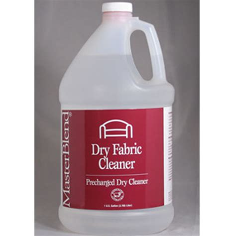 solvent upholstery cleaner masterblend 164106 dry fabric cleaner 4 gallon case