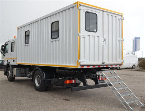 mobile workshop mobile workshop service and lube truck made in germany