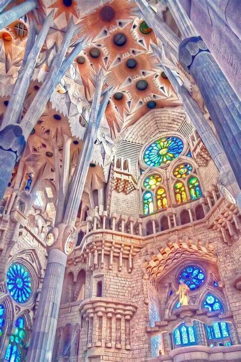 Sagrada Familia, #Barcelona, #Spain   Columns   Pinterest