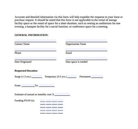 real estate rental and lease form 9 real estate rental and lease form templates to