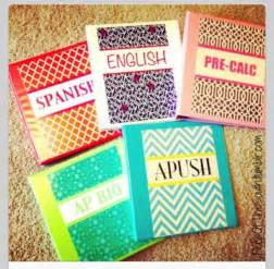 how to decorate a binder cool ways to decorate your binders for school school