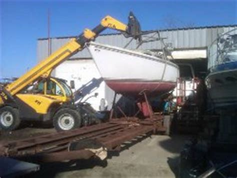 boat salvage yards long island salvage and boat removal long island marine