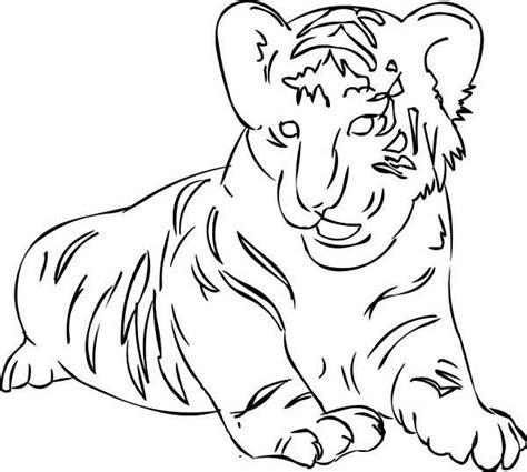 free coloring pages of jaguar cub