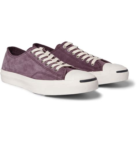 purcell sneakers converse purcell nubuck leather sneakers in purple