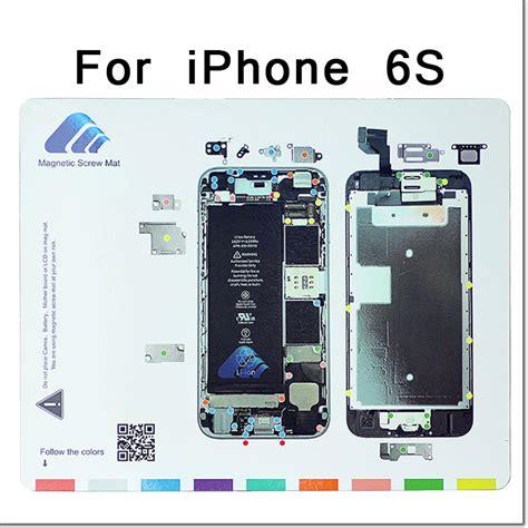 professional magnetic screw mat work guide pad  iphone