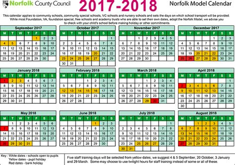 Calendar 2018 Uk School Holidays Term Dates Aldborough Primary School