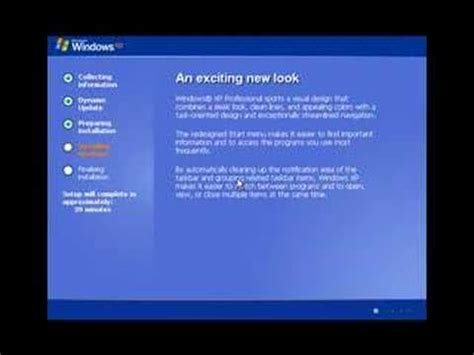 xp tutorial youtube windows xp video tutorial youtube