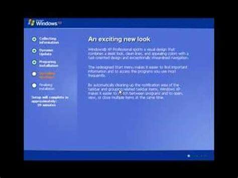 video tutorial xp windows xp video tutorial youtube