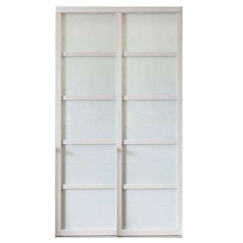 Glass Closet Doors Home Depot Sliding Doors Interior Closet Doors The Home Depot