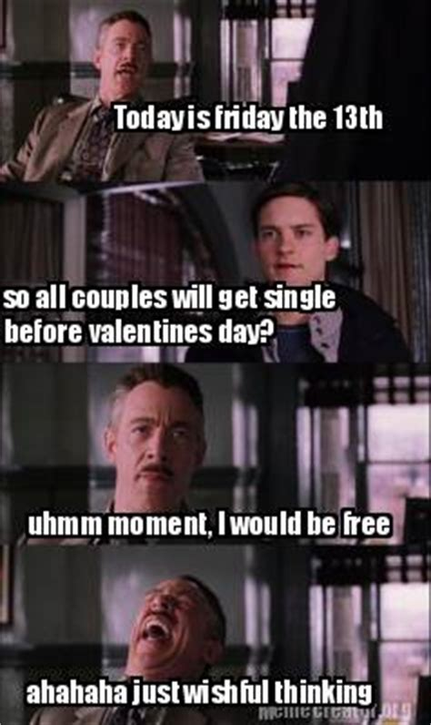 Today Is Friday Meme - meme creator today is friday the 13th so all couples