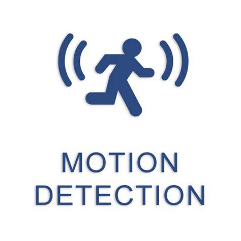 motion detection think positive sensors