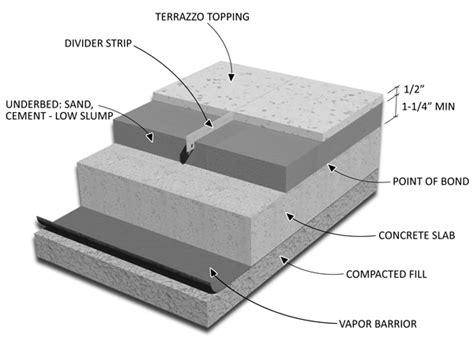 1 emery aggregate concrete floor topping terrazzo information terra firma restorations