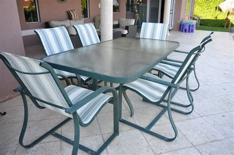 patio furniture table and 6 chairs the hull truth