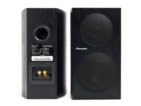 pioneer 2 way bookshelf speakers pair woot