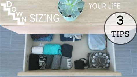 downsizing your life konmari method 3 tips on downsizing your life youtube