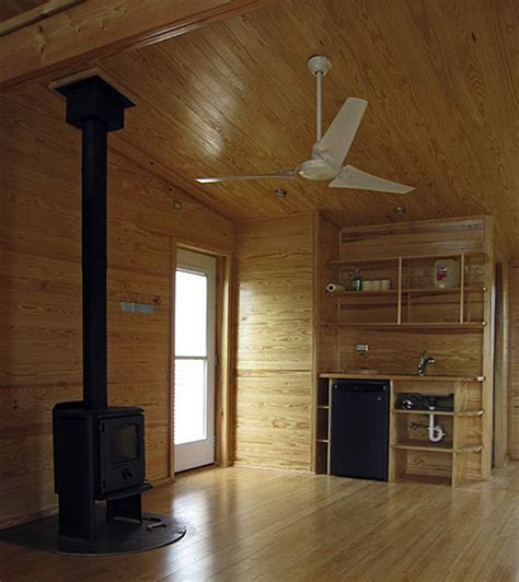 wood home interiors one piece prefab all in one house for off the grid living