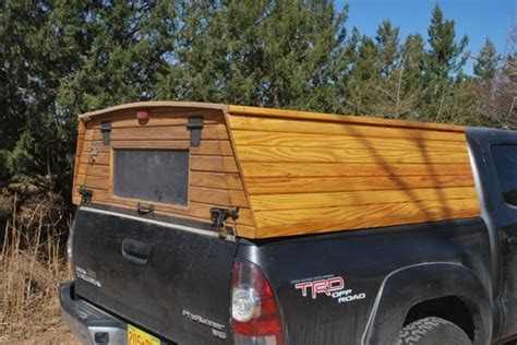 Truck Bed Canopy A Recent Inquiries Prompt This Post About A Wooden Truck Topper The Question That