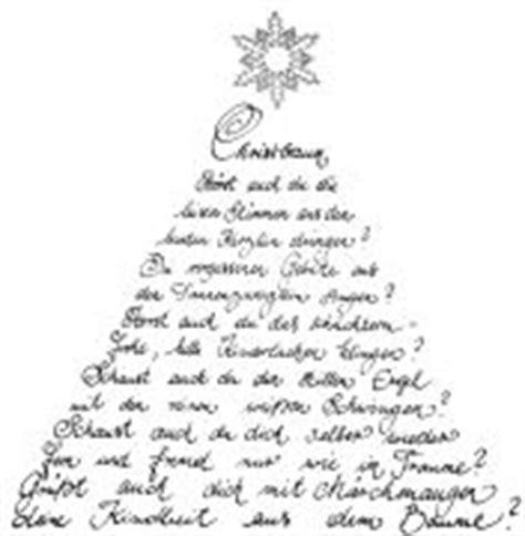 gedicht weihnachtsbaum my blog