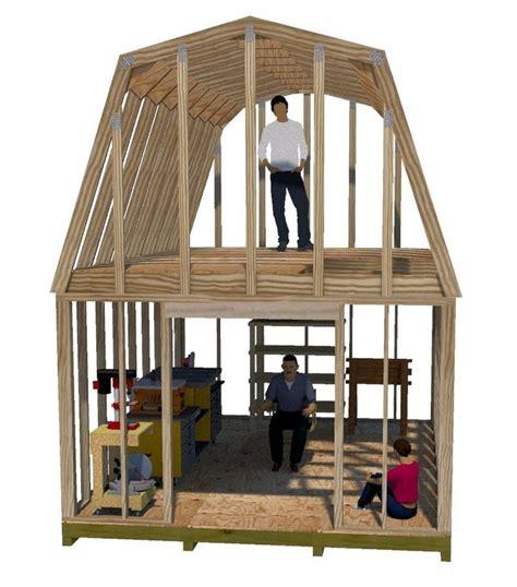 trusses   story shed plans shed  loft building
