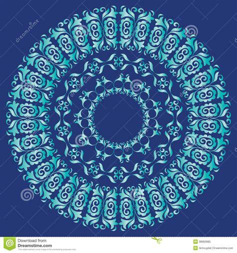 blue mandala pattern blue and navy mandala pattern royalty free stock photo