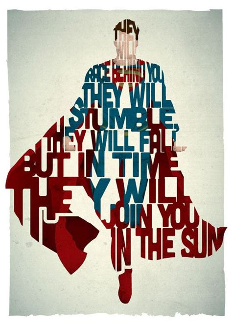 film quotes superman superman typography print based on a quote from the movie