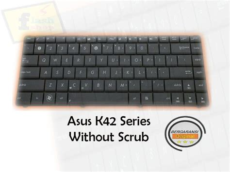 Keyboard Laptop Asus A42f Jual Keyboard Laptop Notebook Asus K42j A42j A42d A42f