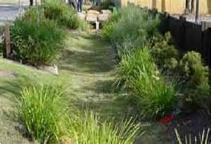 Landscaped Area Definition Swales Water Retention Measures