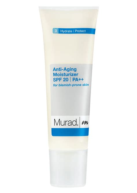 Me Heroine Make Spf 20 Pa murad anti aging moisturizer spf 20 pa for blemish prone skin skinmedix