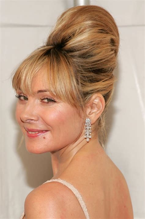 Cattrall Hairstyles by Cattrall Beehive Looks Stylebistro