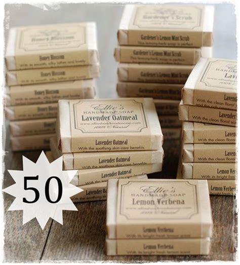 Handmade Soap Wedding Favors - set of 50 soap favors ellie s handmade soap