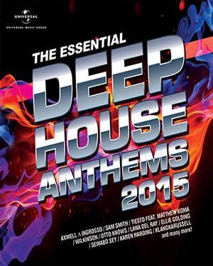 buy house music online buy the essential deep house anthems 2015 audio cd online english music audio cd the