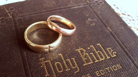 Wedding Rings On Bible by Bible Quotes Marriage Conflicts Quotesgram