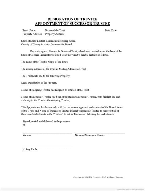 Best Photos Of Printable Letter Of Resignation Free