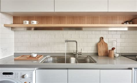 functional kitchen design functional kitchen design with sleek floating shelf and
