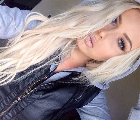 Blonde Hairstyles We Heart It | 1000 images about blonde on pinterest platinum blonde