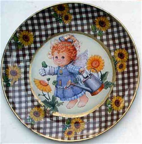 Decoupage Plates With Fabric - decoupage by vera lucia emerim fabric glass