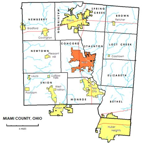 Union County Ohio Records Miami County Ohio Genealogy Guide