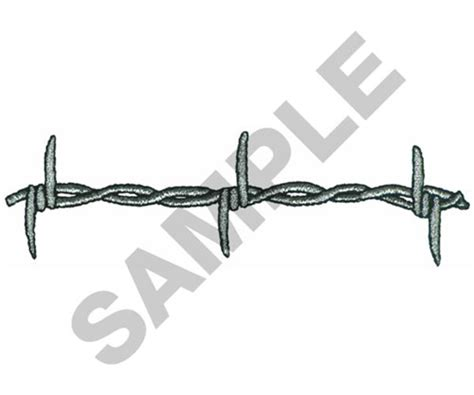 Barbed Wire Embroidery Design From Great Notions Grand Barb Wire Designs For