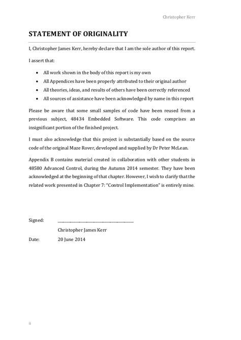 capstone report template capstone report
