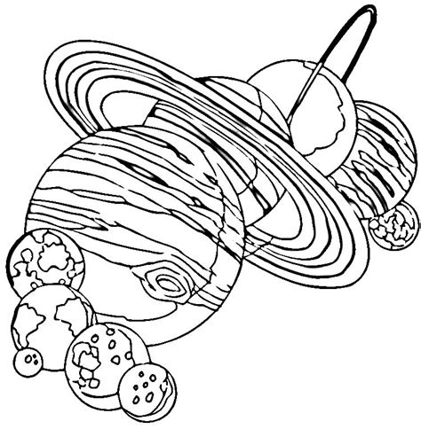 coloring page for solar system solar system color pages az coloring pages