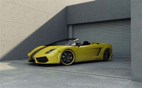 Yellow Lamborghini Car Yellow Lamborghini Car Pictures Images 226