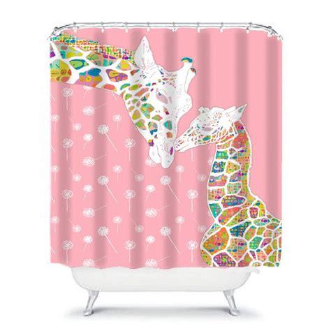 girl bathroom shower curtain best 25 pink shower curtains ideas on pinterest curved