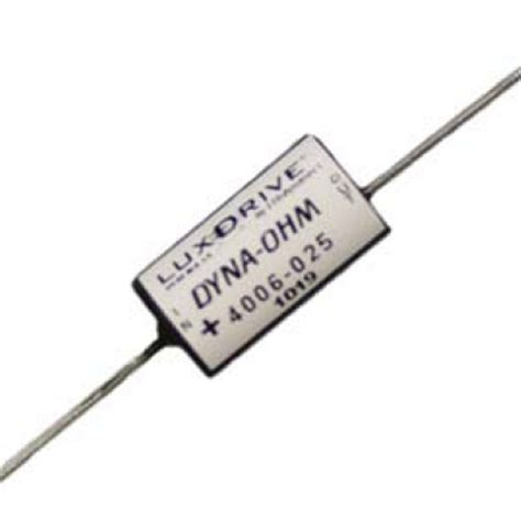 variable resistor leads 20ma dynaohm variable resistor
