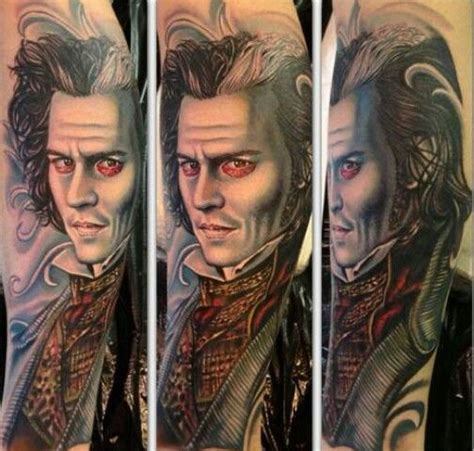 sweeney todd tattoo sweeney todd inklife tattoofreak tattoos