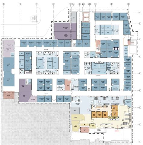 emergency department floor plan emergency department master planning array architects
