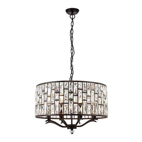 8 pendant light endon lighting 8 light ceiling pendant in