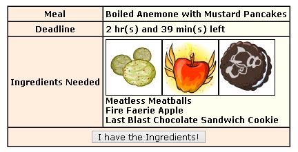 neopets kitchen quest  bowl  yum mylot