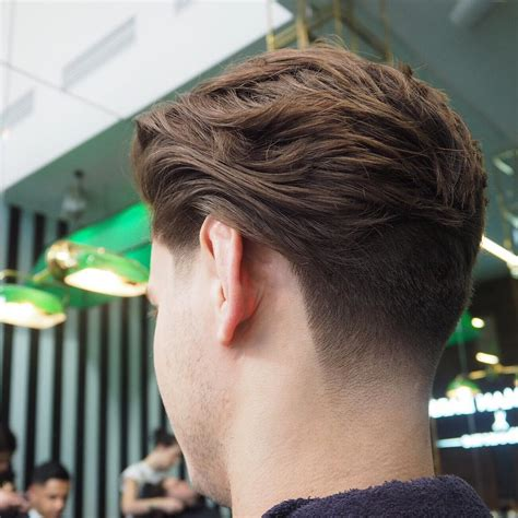 hair styles tappered at neck popular men s hairstyles with natural texture