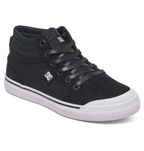 kid high top shoes kid s evan hi high top shoes adbs300255 dc shoes