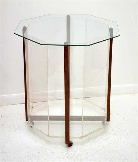 terrarium table octagon terrarium table at 1stdibs